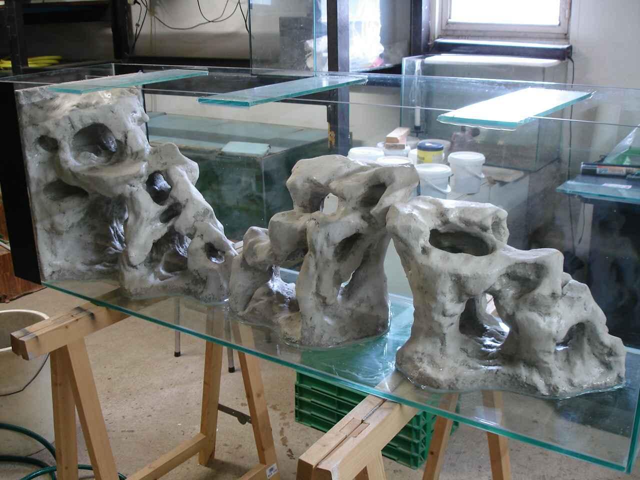 Aquaplum 39 coraux fabrication d 39 aquariums for Exemple de decoration aquarium